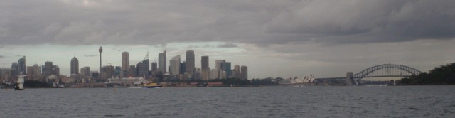 View of Sydney from Blue Heeler