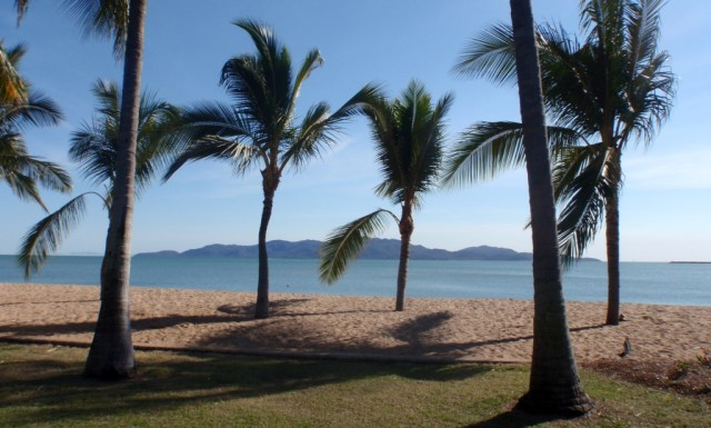 View of Magnetic Island from Townsville foreshore