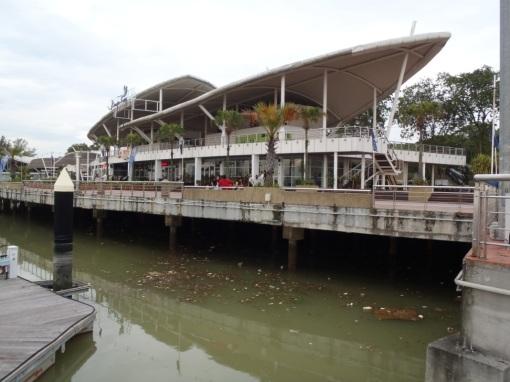 Danga Bay Marina complex - needs some TLC