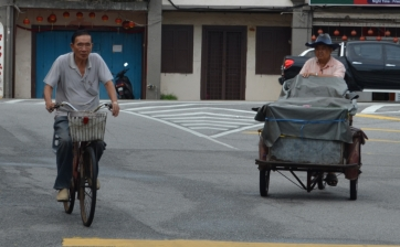 Locals in Melaka