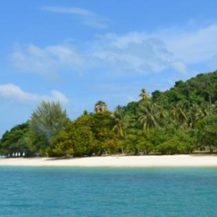 Beautiful anchorage at Ko Rang Yai