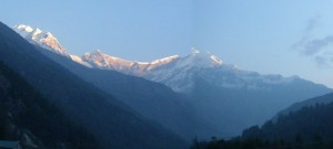 7th highest mountain in the world - Dhaulagiri
