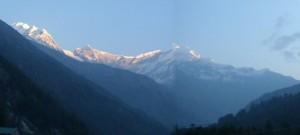 7th highest mountain in the world - Dhaulagiri