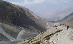 The steep trek to Muktinath