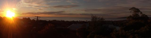 Port Phillip Bay from Mornington Peninsula