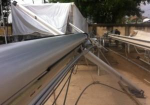 clean mast