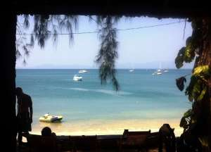 Beautiful Buffalo Bay from Mr Gao's Restaurant - perfect ending to a great stay in Thailand.