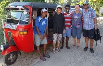Batu, Maila, Ekka, Ally, Wayne - all smiles