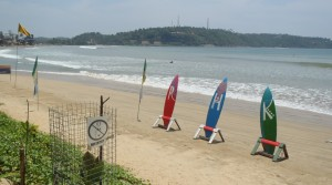 Beach near Galle Harbour