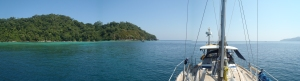 Surin Island, Thailand - north east anchorage