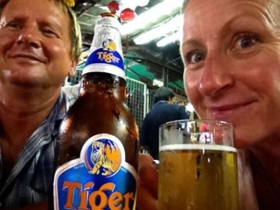 Tiger Beer, Singapore 2013
