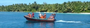 BIOT crew visit atoll every week