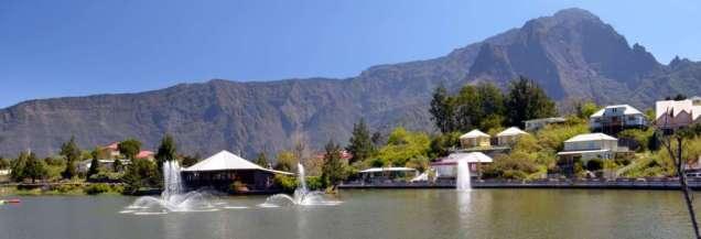 Lake at Cilaos