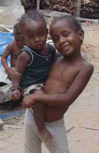 Little brother on Nosy Komba