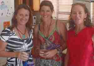 Al, Denise and Sheila