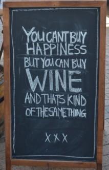 Plenty of wine in South Africa