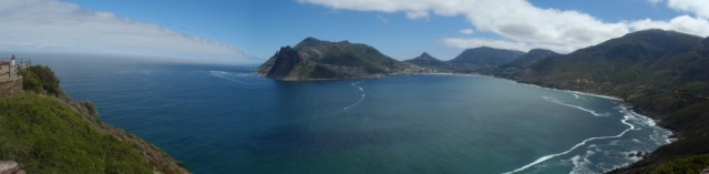View of Hout Bay from the Chapman's Peak Drive