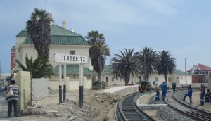 Luderitz Train Line