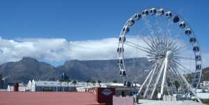 Views of Table Mountain from V&A Waterfront