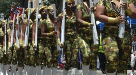 Artillery girls