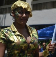 Artillery woman