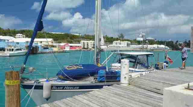 Bermuda Customs Dock