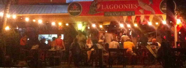 Lagoonies Bar for Happy Hour