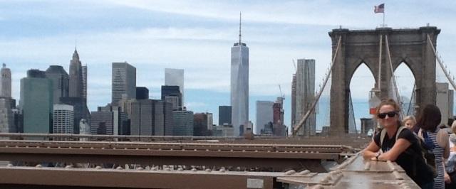 A walk across Brooklyn Bridge on a lazy Sunday