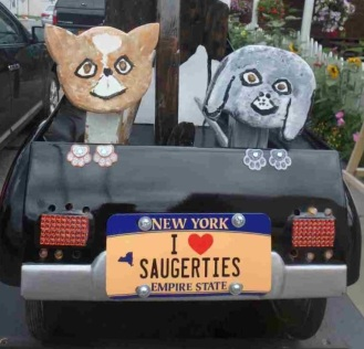 but this car was at Saugerties