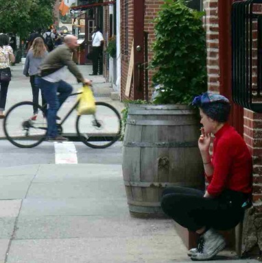 Time out in Greenwich Village