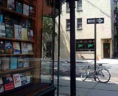 Street scene Greenwich Village