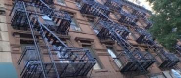 Ubiquitous fire escapes of NYC