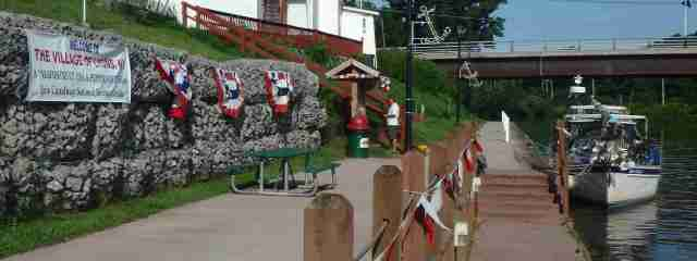 Welcome to the Peppermint Village of Lyons