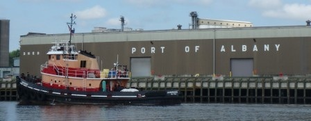 End of the line for large ships at The Port of Albany