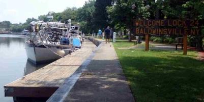 Lock E24, Baldwinsville