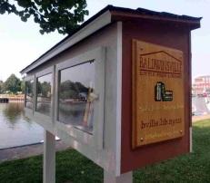 A good idea - Free Little Library, Lock E24, Baldwinsville