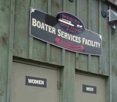 Facilities at Medina for boaters