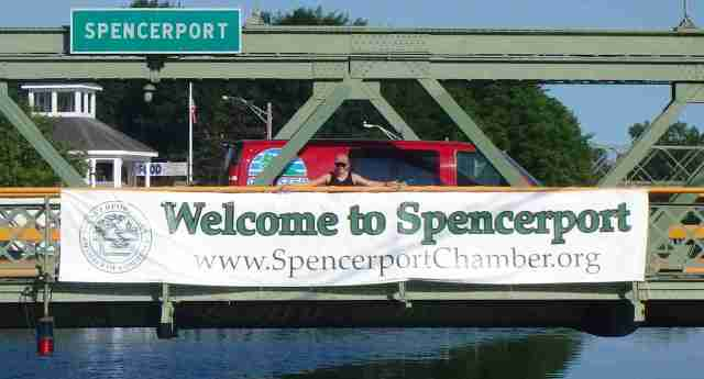 Spencerport welcome