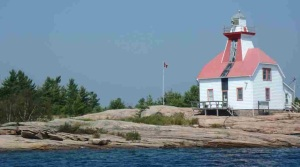 Lighthouse near Snug Harbour