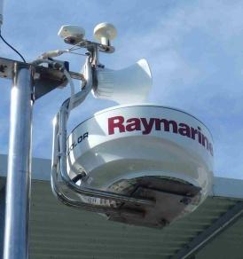 New Raymarine radome