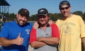 Scott, Wayne and Jeff at KDM
