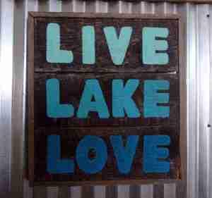 Live lake love