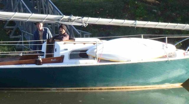 Good Samaritan Charles with Paul and new kayak