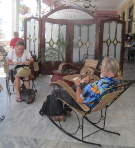 Online banking never felt so good! Internet is sparsely available in Cuba.