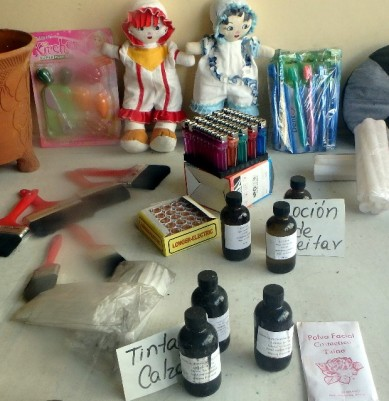 Shops in Cuba have little to offer - anything from bicycle pedals, dolls, paintbrushes and soap