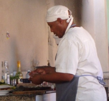 Simple Cuban food