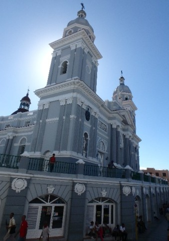 Ecclesia at the Plaza Cespedes, Santiago de Cuba