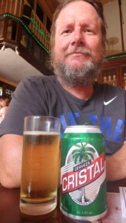 Cristal Beer, Cuba, Jan 2016