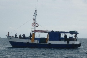 Typical fishing vessel