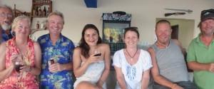 Holding up the bar at Marina Punta Gorda